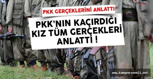 PKK'dan Kaçarak Teslim Olan Kız Yaşadıklarını Anlattı