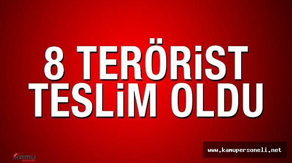 PKK'nın Barınma Alanlarından Kaçan Teröristler Teslim Oldu