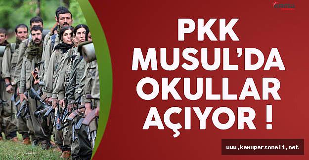 PKK Terörü Aşılamak İçin Musul'da Okullar Açıyor