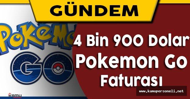 Pokemon GO Yüzünden 4 Bin 900 Lira Telefon Faturasıyla Karşılaştı
