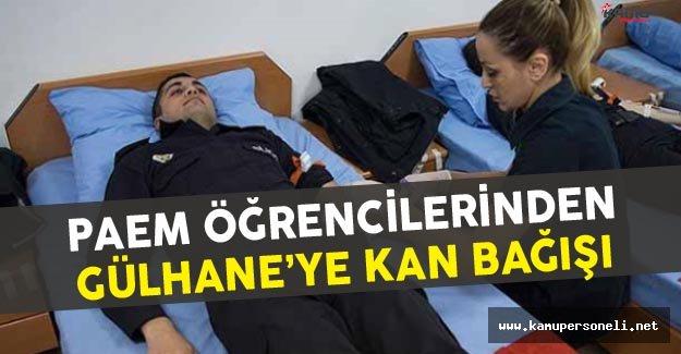 Polis Amirleri Eğitim Merkezi (PAEM) Öğrencileri Kan Bağışında Bulundu