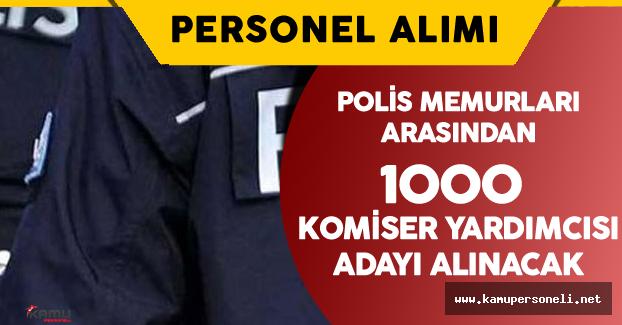 Polis Memurları Arasından Komiser Yardımcısı Alımı Yapılacak
