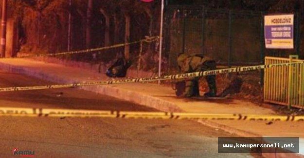 Polisevi Önünde Bombalı Paket Krizi