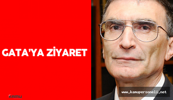 Prof. Dr. Aziz Sancar'ın GATA Ziyareti
