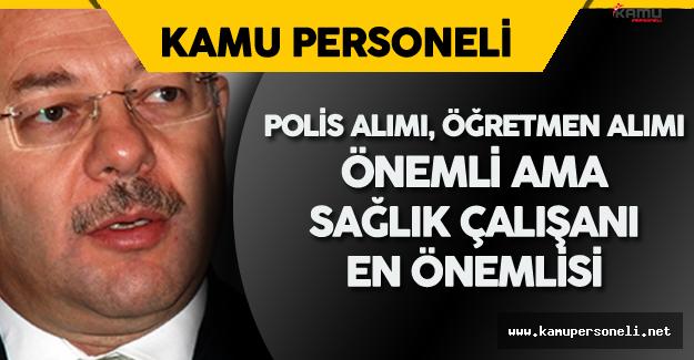"""Recep Akdağ: """" Maliye Bakanı ile Memur Kadroları için Sıkı Pazarlık Yapacağız"""""""