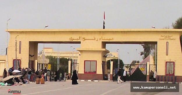 Refah Sınır Kapısı Geçici Olarak Kapatıldı