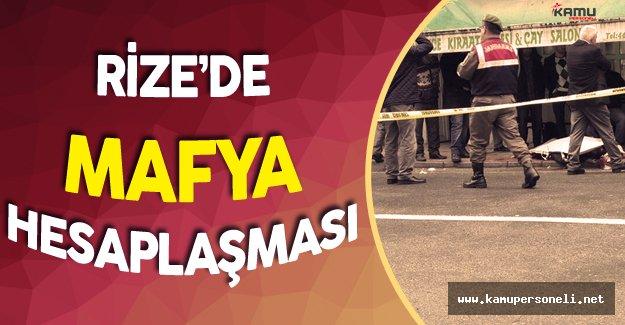 Rize'de Kahvehane Baskını 2 Ölü 5 Yaralı