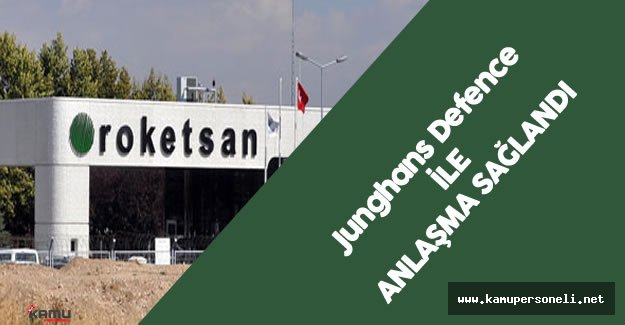 Roketsan ile Junghans Defence İşbirliği Yapacak