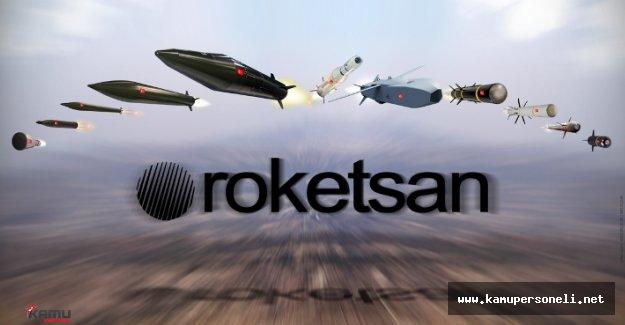 Roketsan KPSS Şartsız Çok Sayıda Personel Alımı Yapacak