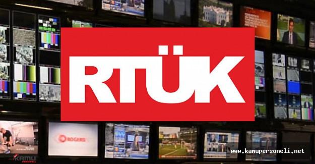 RTÜK Birçok Kanala ve Radyoya Ceza Verdi