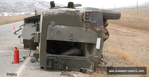 Rus Askeri Aracı Kaza Yaptı. 6 Ölü Var