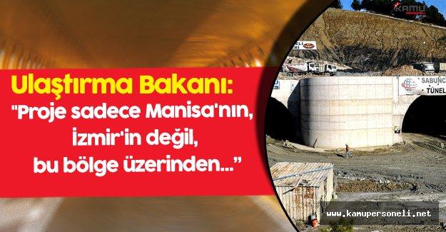 Sabuncubeli Geçidi İle İzmir-Manisa Arası 15 Dakikaya İnebilecek