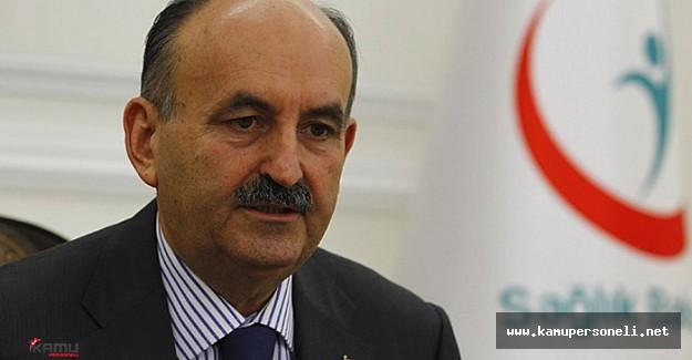 Sağlık Bakanı Mehmet Müezzinoğlu Açıklamalarda Bulundu