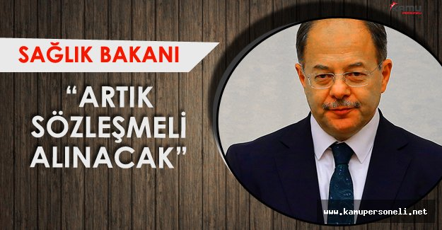 Sağlık Bakanı'ndan Son Dakika Açıklamaları ! ' İhtiyaç Kadar TSK Sözleşmeli Personel Alacak'