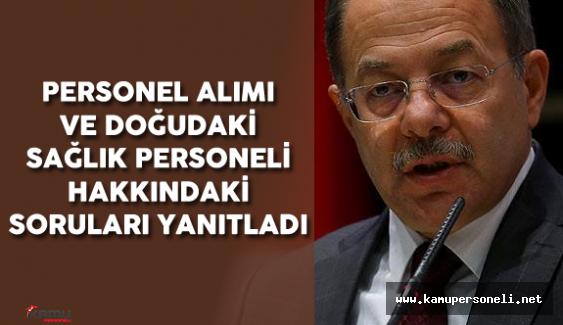 Sağlık Bakanı Akdağ'dan Personel Alımı Açıklaması