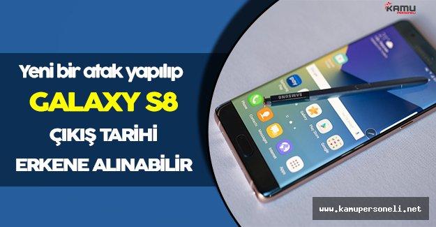Samsung Galaxy S8 Çıkışını Erkene Çekebilir!
