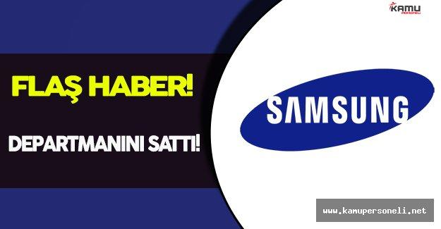 Samsung, Yazıcı Departmanını HP' ye Sattı!