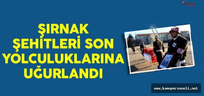 Şehit Jandarma Teğmen Mustafa Yazgan Ve Şehit Jandarma Uzman Çavuş Faruk Yüksel'e Son Yolculuk