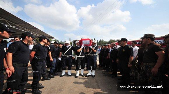 Şehit Polis Memuru Memleketinde Toprağa Verildi