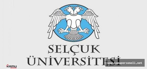 Selçuk Üniversitesi 66 Akademik Personel Alımı