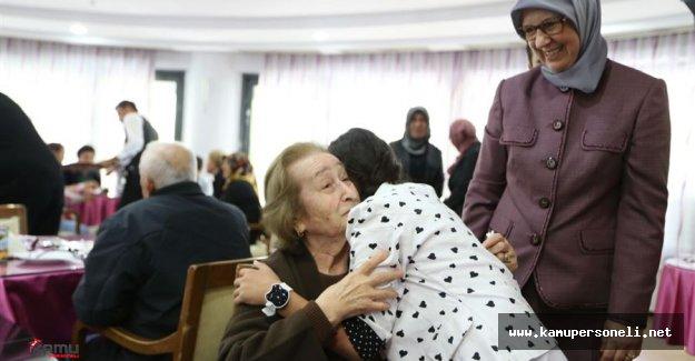 Sema Ramazanoğlu'ndan Huzurevi Ziyareti