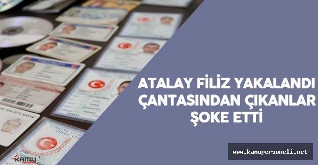 Seri Katil Olduğu Şüphesiyle Aranan Atalay Filiz'in Yakalandığında Üzerinden Çıkanlar