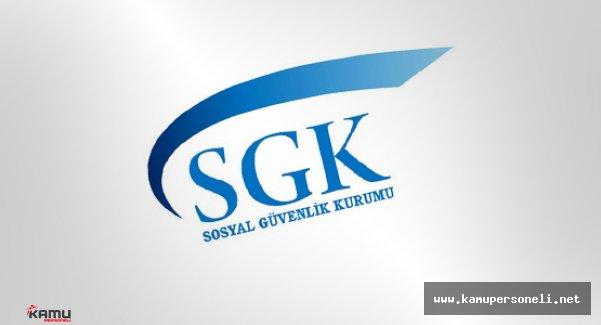 SGK 110 Sözleşmeli Eczacı Alacak