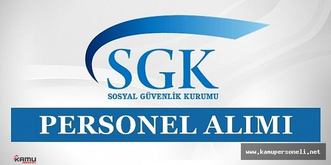 SGK 400 Personel Alıyor