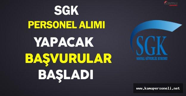 SGK Sözleşmeli Personel Alımı Yapacak