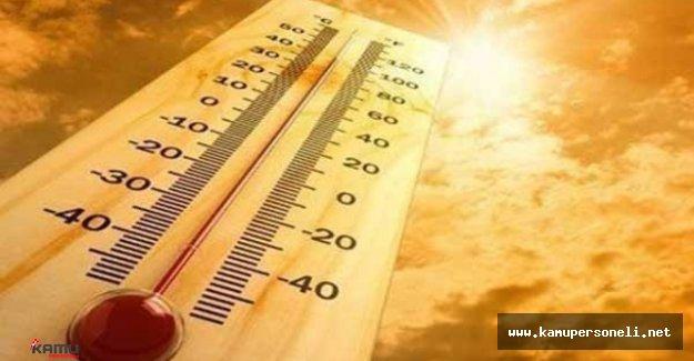 Sıcaklık Artışı Devam Ediyor. 60 Yıllık Sıcaklık Rekoru Yaşandı