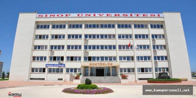 Sinop Üniversitesi Akademik Personel Alım İlanı