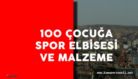 Şırnak Cizre'deki 100 Çocuğa Spor Elbise Dağıtıldı