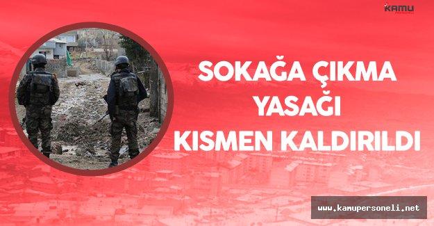Şırnak'ta Sokağa Çıkma Yasağı Kısmen Kaldırıldı