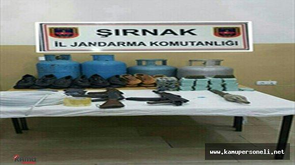 Şırnak'ta Terör Operasyonu Düzenlendi