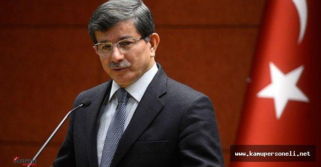 Son Dakika! Başbakan Ahmet Davutoğlu Basın Toplantısı Düzenledi