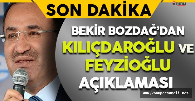 Son Dakika: Bekir Bozdağ'dan Kılıçdaroğlu Açıklaması