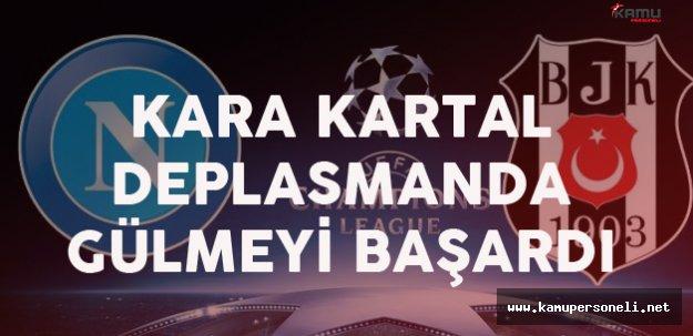 Son Dakika: Beşiktaş Napoli'yi 3-2 Yendi