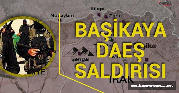 SON DAKİKA ! DAEŞ Türk Askerinin Bulunduğu  Başika Kampına Saldırdı