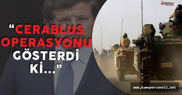 Son Dakika: Eski Başbakan Davutoğlu'ndan Suriye Açıklamaları
