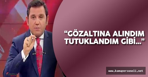 Son Dakika : Fatih Portakal Gözaltına Alındı mı?