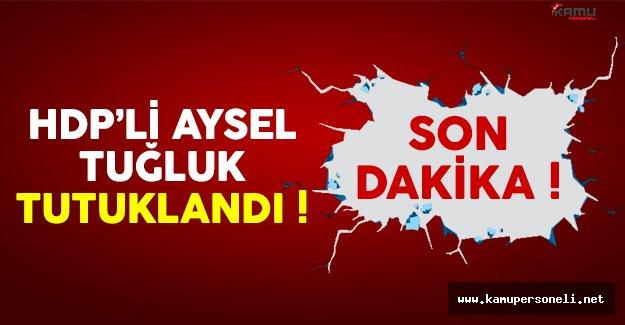 Son dakika: HDP'li Aysel Tuğluk tutuklandı