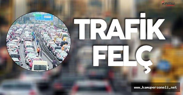 Son Dakika: İstanbul'da Trafik Felç