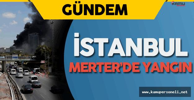 Son Dakika: İstanbul Merter'deki Korkutan Yangın Kontrol Altına Alındı