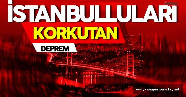 Son dakika: İstanbul ve Çevresinde Deprem Paniği