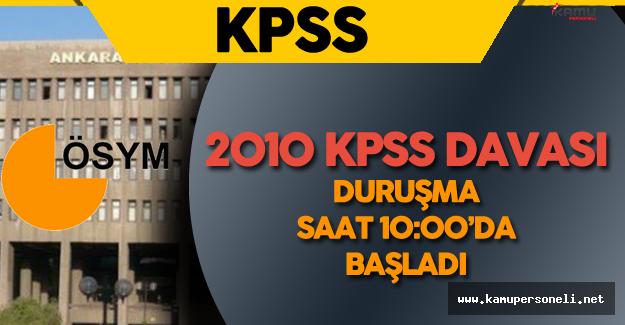 Son Dakika: KPSS Davası Hakkında Yeni Gelişmeler