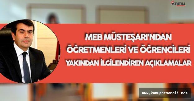 MEB Müsteşarı Tarih Verdi ! Açığa Alınan Öğretmenler Dikkat!