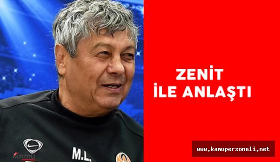Mircea Lucescu Zenit ile Anlaştı