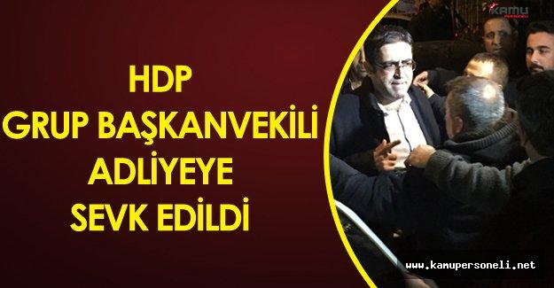 Son Dakika:HDP'li İdris Baluken Bingöl Adliyesinde