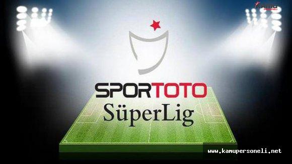 Spor Toto Süper Lig İkinci Hafta Maç Programı