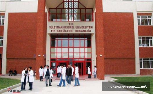 Süleyman Demirel Üniversitesi Sözleşmeli Hemşire Alımı Yapıyor